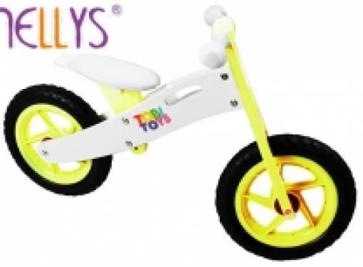 Odrážadlo bicykel TOBI žlté
