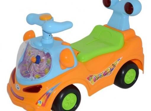 Odrážadlo FUNNY CAR oranžové