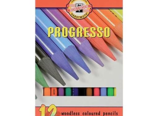 Pastelky PROGRESSO - 12 ks
