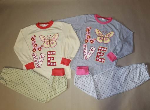 Dievčenské pyžamo LOVE veľ.134