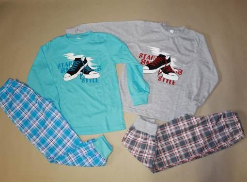 Chlapčenské pyžamo Tenisky veľ.128