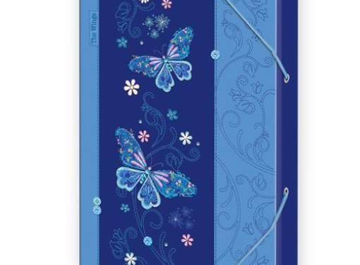 Box A4 Motýľ modrý