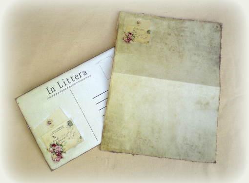 Obálka s listovým papierom