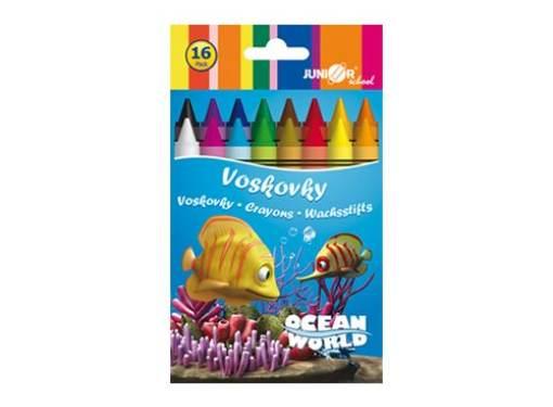 Voskovky 16 ks Ocean Word