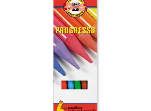 Pastelky PROGRESSO - 6 ks