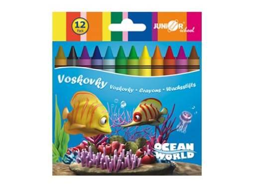 Voskovky 12 ks Ocean Word