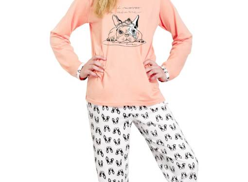 Zateplené pyžamo TARO - veľ.134