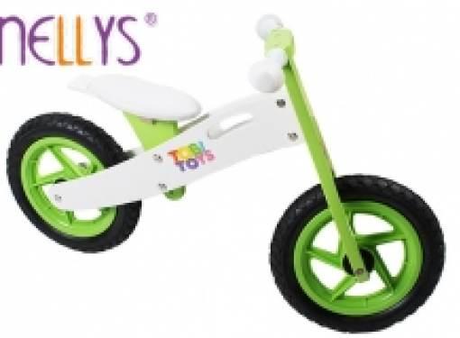 Odrážadlo bicykel TOBI zelené